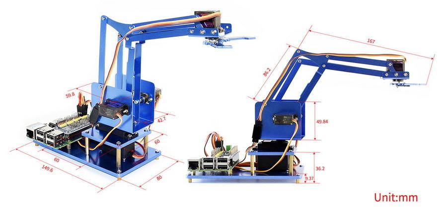 robotkar Raspberry PI-hez