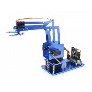 4-DOF Metal Robot Arm Kit for micro:bit, Bluetooth