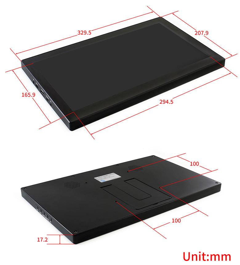 13.3 inch IPS FULLHD kapacitív érintőkijelző