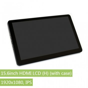 15.6inch HDMI LCD, 1920x1080, IPS , Kapacitív érintőkijelző, Audio , edzett üveg előlappal