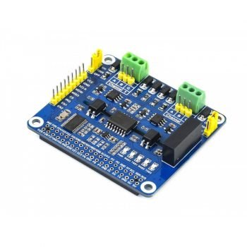 2 csatornás Izolált RS485 HAT modul Raspberry Pi-hez