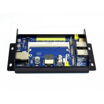 Compute Module IO Board  PoE-vel Raspberry Pi CM3 / CM3L / CM3+ / CM3+L modulokhoz fém házban