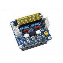 2-CH Triac HAT Raspberry Pi-hez, integrált  MCU, UART / I2C
