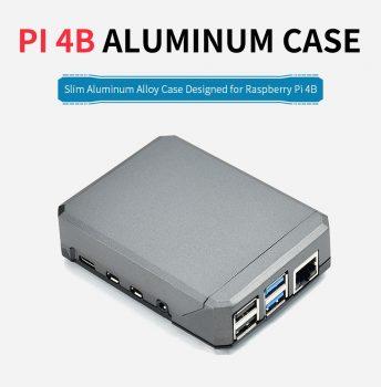 Argon NEO - Slim Aluminum ház Raspberry Pi 4-hez , Passzív hűtéssel