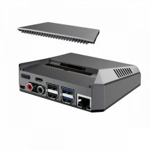 Argon One Nanosound: Aluminum ház  Raspberry Pi 4-hez - beépített Hi-Fi DAC