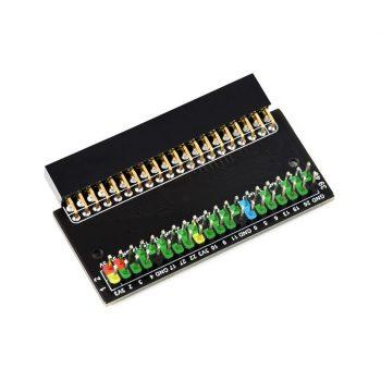 Raspberry Pi400 GPIO Adapter - színkódos