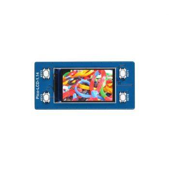 1.14inch LCD kijelző Raspberry Pi Pico mikrokontrollerhez, 65K RGB , 240×135 Pixels, SPI Interface