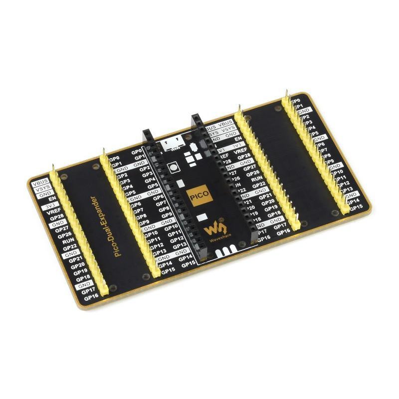 duál GPIO portbővítő Raspberry PI PICO-hoz
