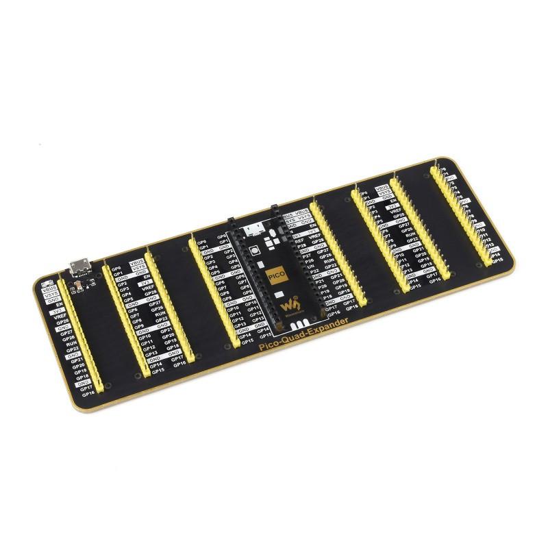Négyes GPIO portbővítő Raspberry PI PICO-hoz