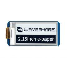 2.13inch E-Paper E-Ink kijelző modul Raspberry Pi Pico-hoz, 250×122, Black&White, SPI