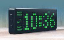 PICO CLOCK - Multifunkciós DIY LED Óra extra funkciókkal - Raspberry PI PICO-val