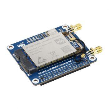 SX1302 LoRaWAN Gateway HAT  Raspberry Pi-hez, SX1302 868M EU868, GNSS Module