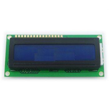 HD44780 kompatibilis LCD1602 - 5V - Kék háttérvilágítással