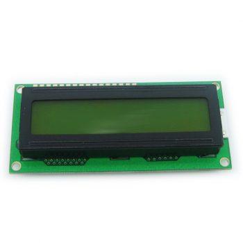 HD44780 kompatibilis LCD1602 - 3.3V - Sárga háttérvilágítással