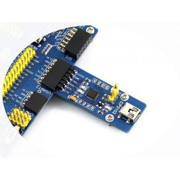 USB 2.0 - UART TTL 3.3V / 5V Serial konverter CP2102 - USB mini - kiegészítő extrákkal