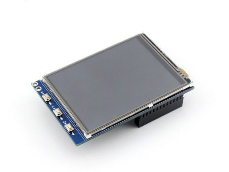 3.2 inch LCD, 320×240 Raspberry PI érintőkijelző 3 nyomógombbal