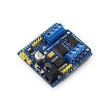 Motor vezérlő és meghajtó DC-  és Léptetőmotorokhoz - 4xDC 2xStepper - Arduino UNO kompatibilis