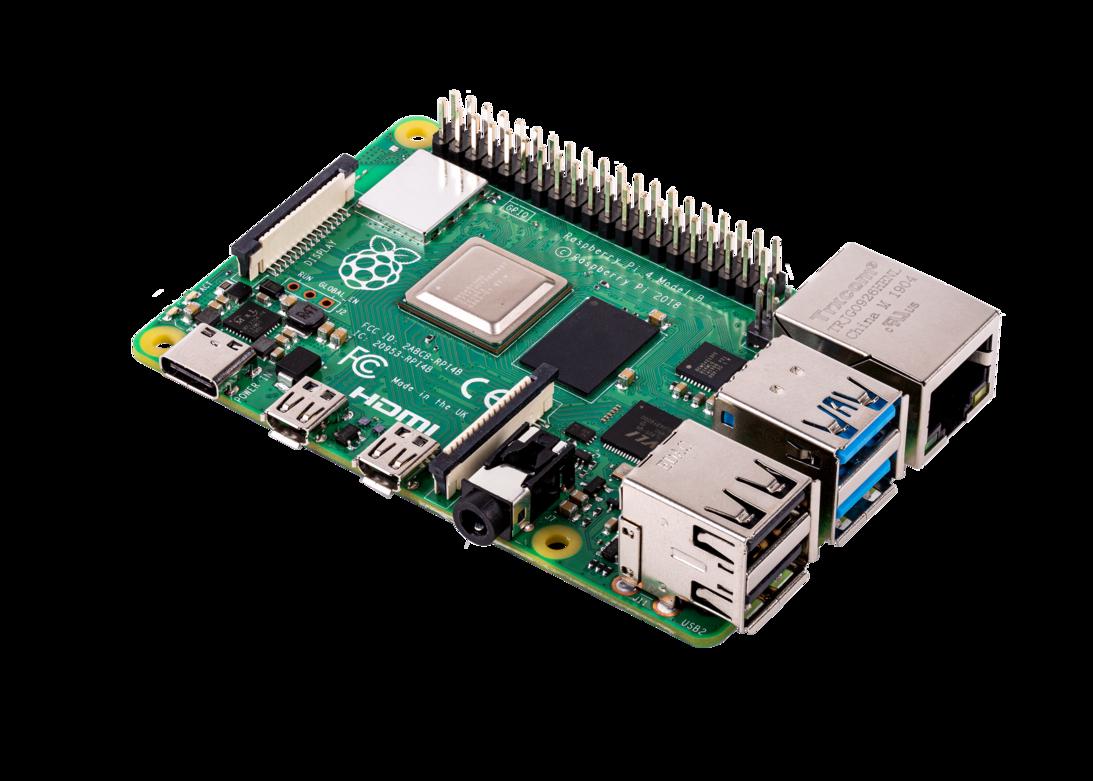 Raspberry PI 4B 2GB - ÁRCSÖKKENÉS!  Csak 13.990 Ft
