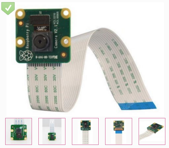 Raspberry  Kamera Modul v2 8MP