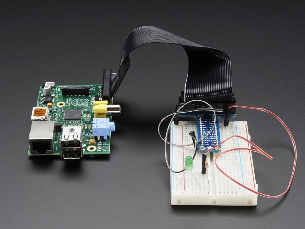 26 pólusú GPIO kábel + T alakú próbapanel csatlakozó
