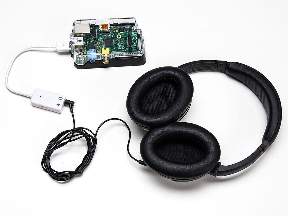 USB Audio adapter Raspberry PI-hez