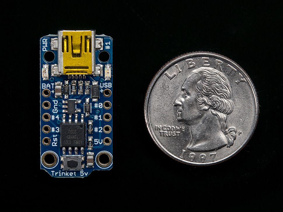 Adafruit Trinket - Mini Microcontroller - 5V