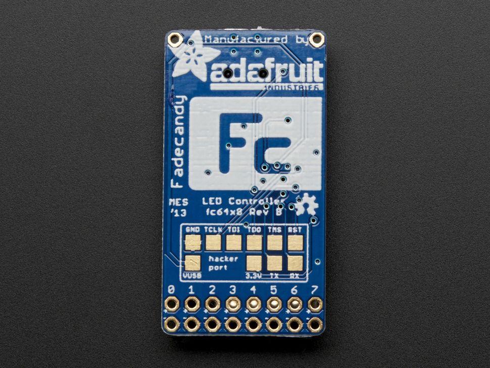 FadeCandy - USB-s vezérlő NeoPixel LEDekhez