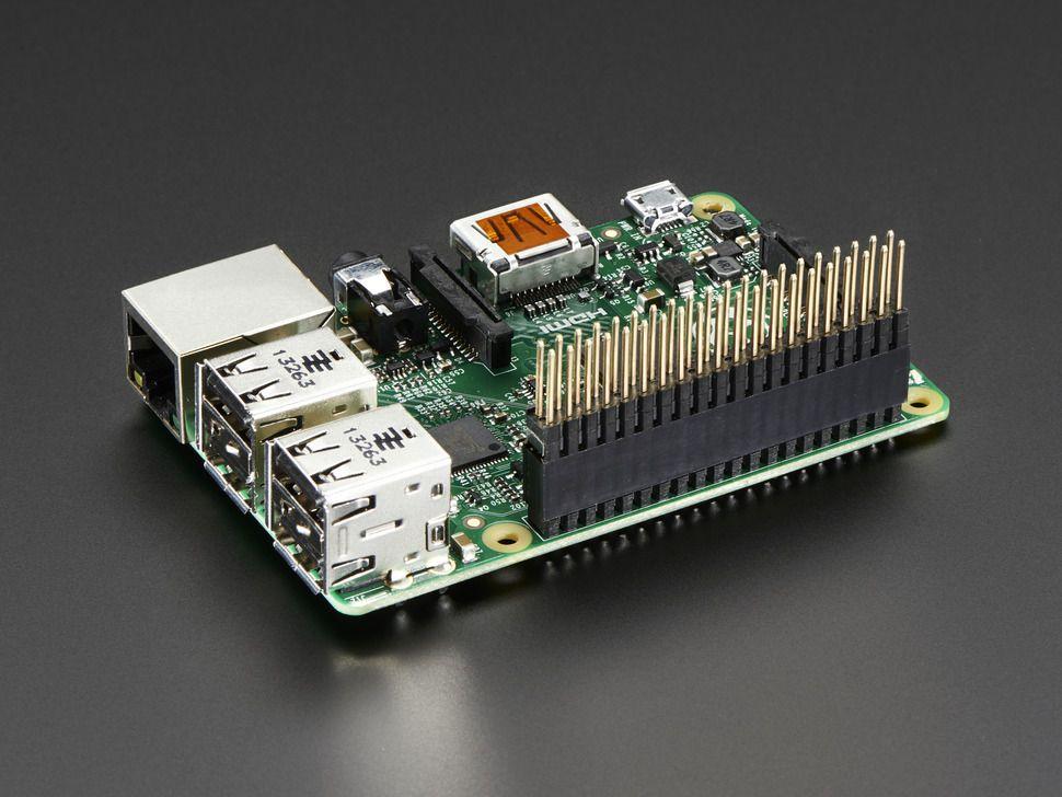 GPIO csatlakozó 2x20 - extra hosszú, extra magas (Raspberry PI A+/B+/PI-2)