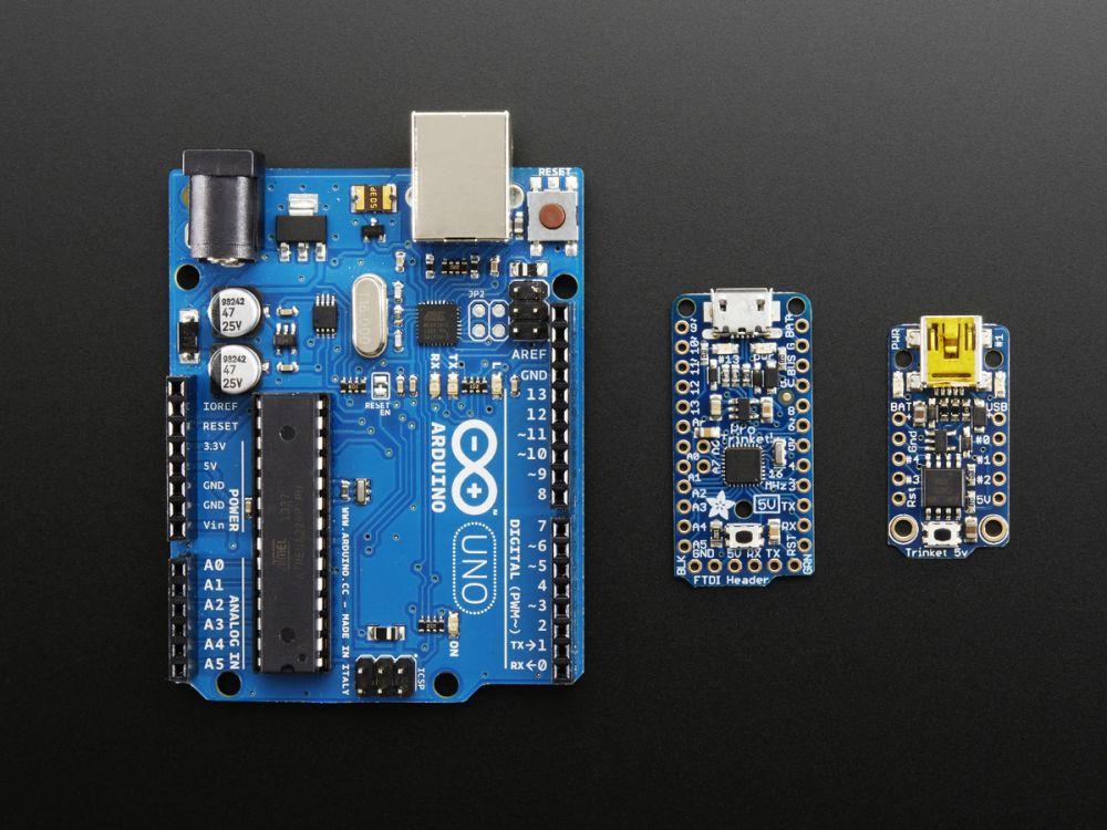 Adafruit Pro Trinket Mikrokontroller - 5V 16MHz