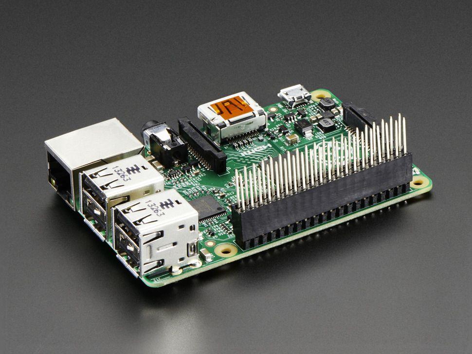 GPIO csatlakozó 2x20 - extra hosszú (Raspberry PI A+/B+/PI-2)