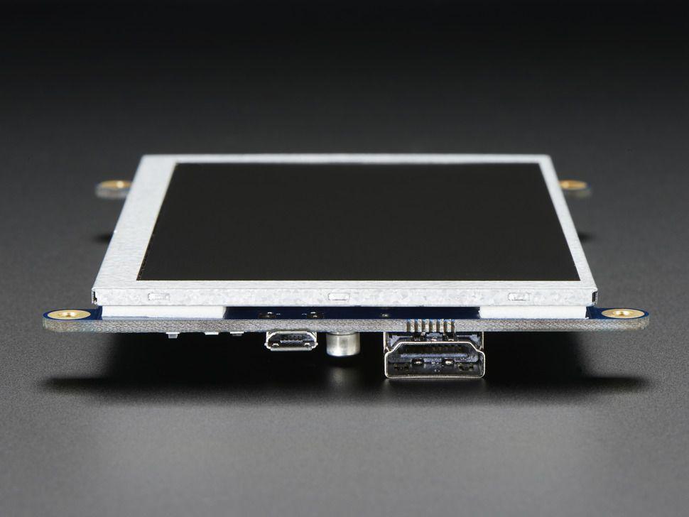 """HDMI 5"""" 800x480 képernyő (Backpack) - nem érintős"""
