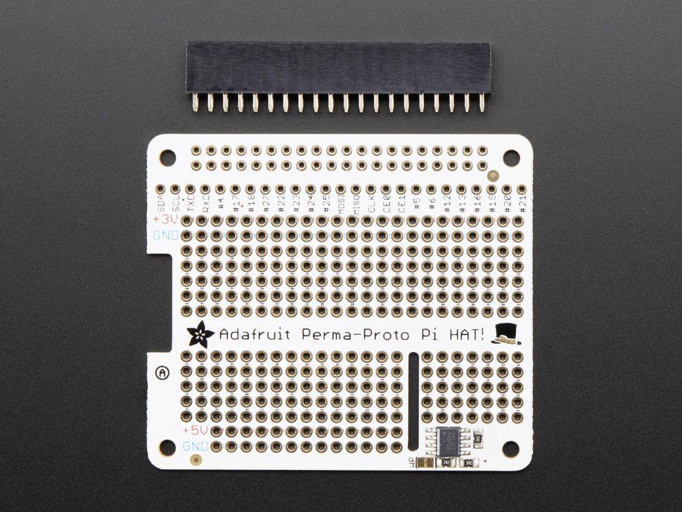 PI-HAT Prototípus NYÁK lemez Raspberry PI-hez - EEPROMMAL