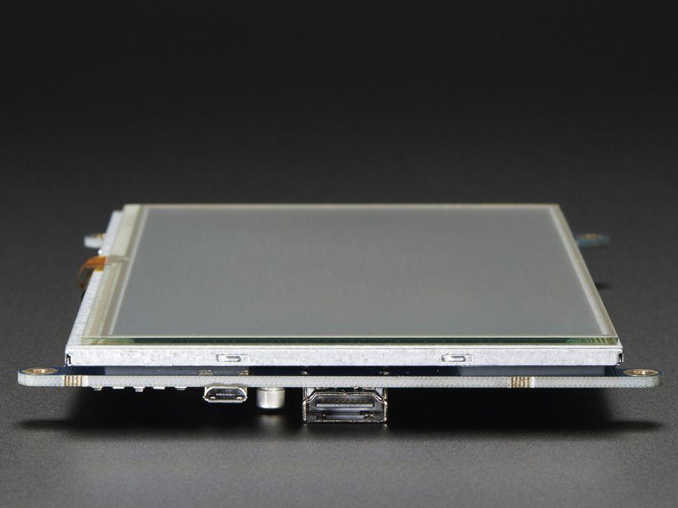 """HDMI 7"""" 800x480 érintőképernyő (Backpack)"""