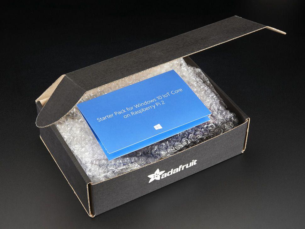Windows 10 IoT Core fejlesztői csomag Raspberry Pi-hez