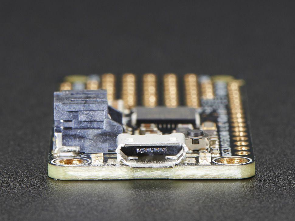 Adafruit Feather M0 Basic Proto - ATSAMD21 Cortex M0 - Atmel ARM Cortex M0 mikrokontrollerrel