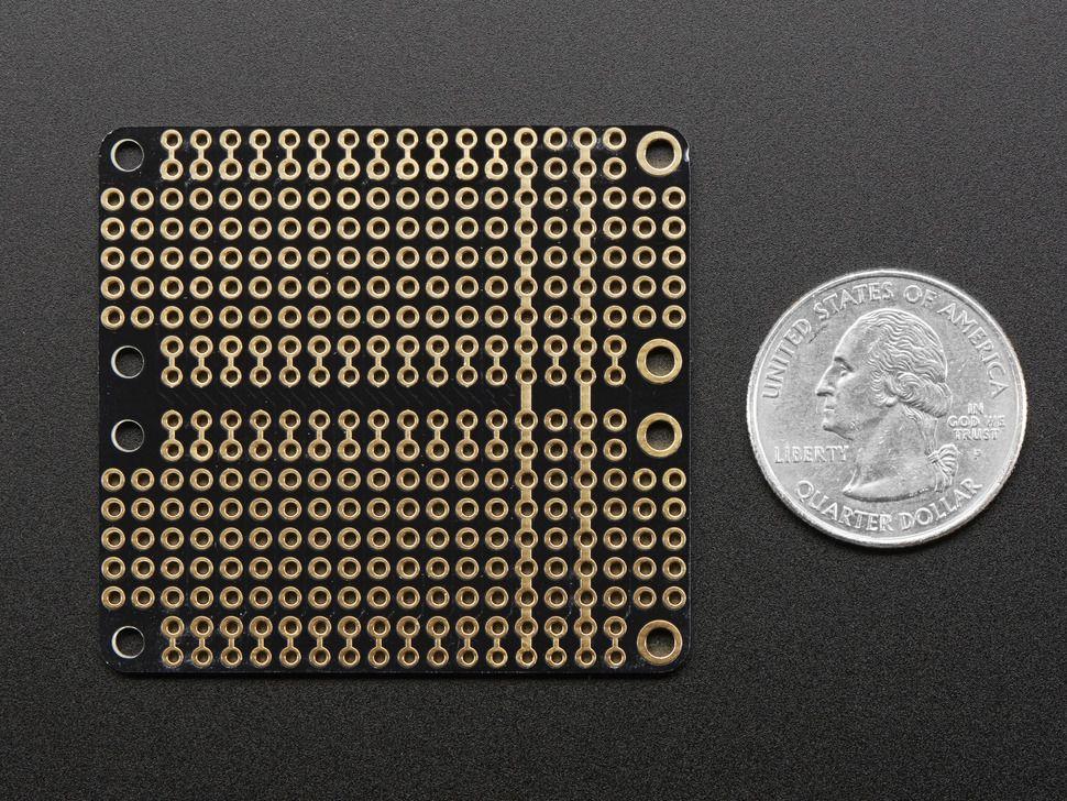 FeatherWing Doubler - Dupla prototípus bővítőkártya Adafruit Feather platformhoz