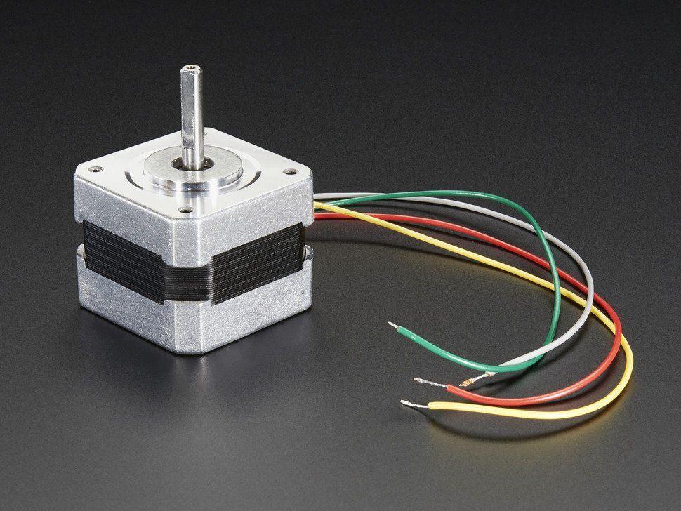 Léptetőmotor - NEMA-17 - 200 steps/rev, 12V 350mA