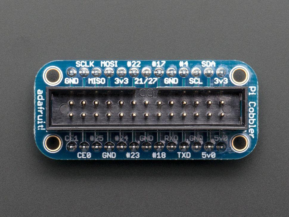 Adafruit GPIO kábel + próbapanel csatlakozó