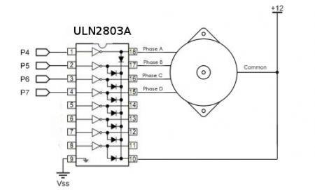 ULN2803A DARLINGTON ARRAY 8NPN