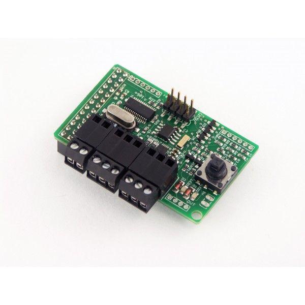 RaspiComm RS232/RS485 kommunikációs modul Raspberry PI-hez