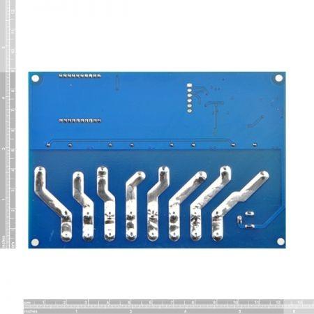 Vezetéknélküli távirányítható 4 csatornás relémodul házban - 230V 30A Max