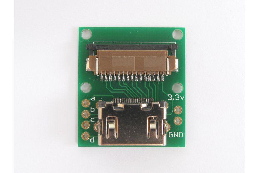 Pi Kamera kábelhosszabbító szett - HDMI csatlakozóval