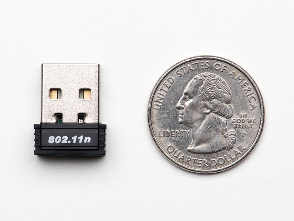 150Mbps USB Wifi nano adapter Raspberry PI-hez