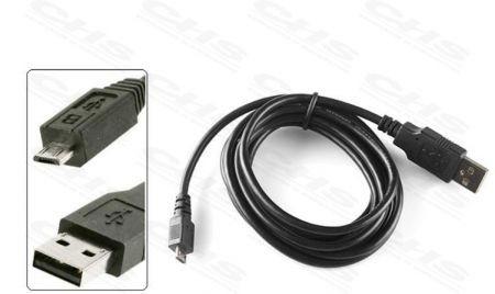 USB-microUSB tápegység kábel 1.8m