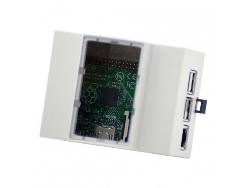 DIN ház - Raspberry PI Model B+ / PI-2 / PI-3