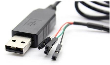 PL2303 USB-TTL Serial Debug kábel / Konzol kábel Raspberry Pi-hez (100cm)