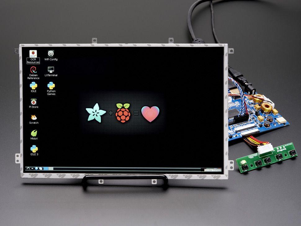 "10.1"" Display & Audio 1280x800 IPS - HDMI/VGA/NTSC/PAL"