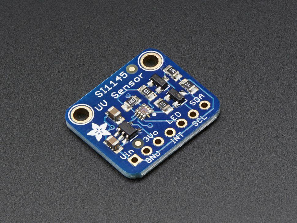 SI1145 Digitális UV Index / IR / Láthatófény érzékelő Szenzor