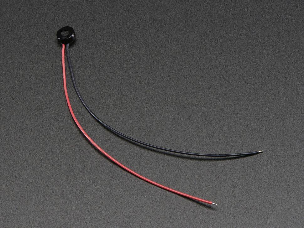 Miniatűr Elektret Mikrofon - kábellel