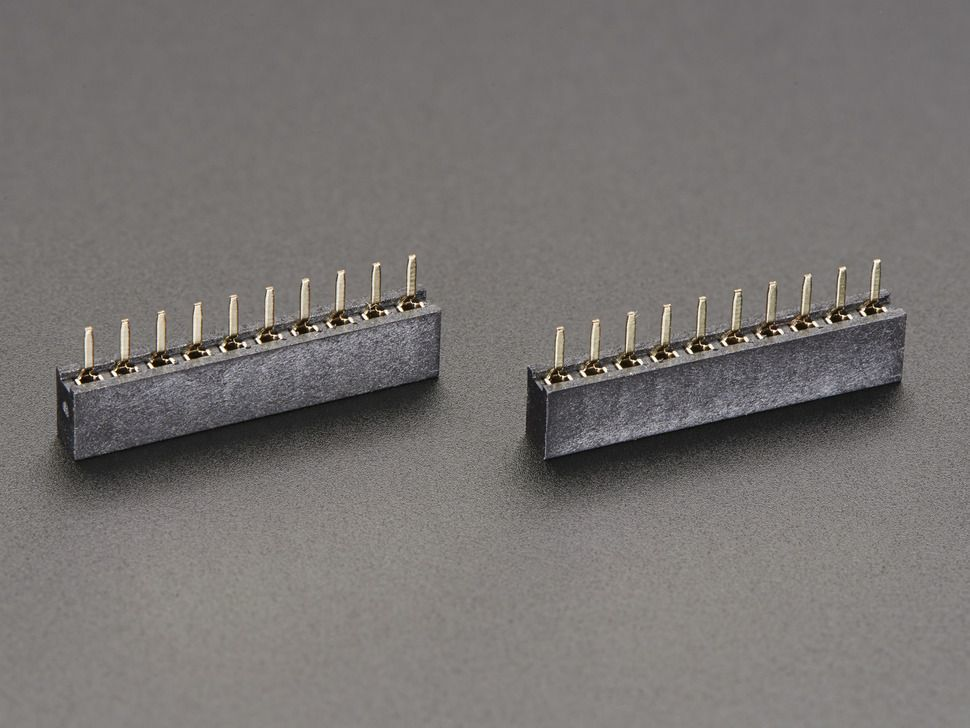 XBEE foglalat - 2mm 10 lábas aljzat (2db)
